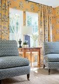Thibaut Lily Flower Wallpaper in Harvest Gold